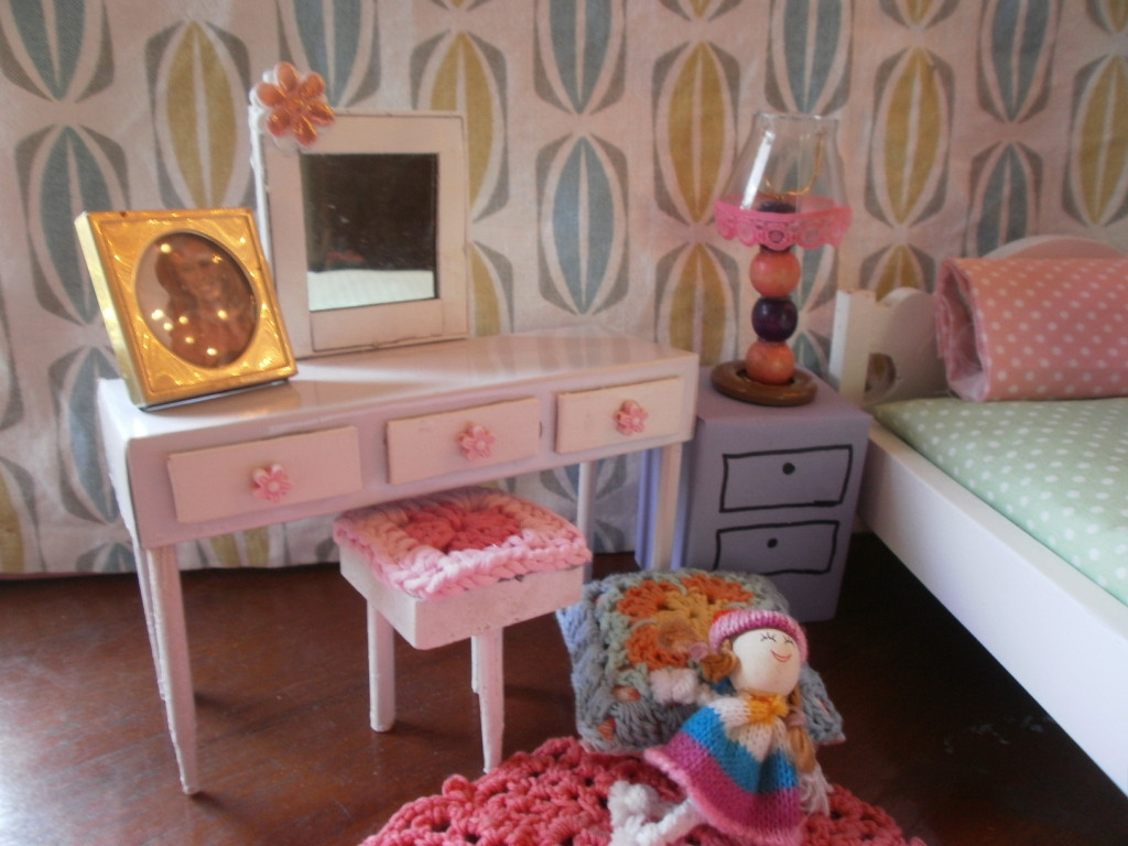 Best ideas about DIY Dolls Furniture . Save or Pin The Dancing Fingers DIY Barbie Furniture Now.