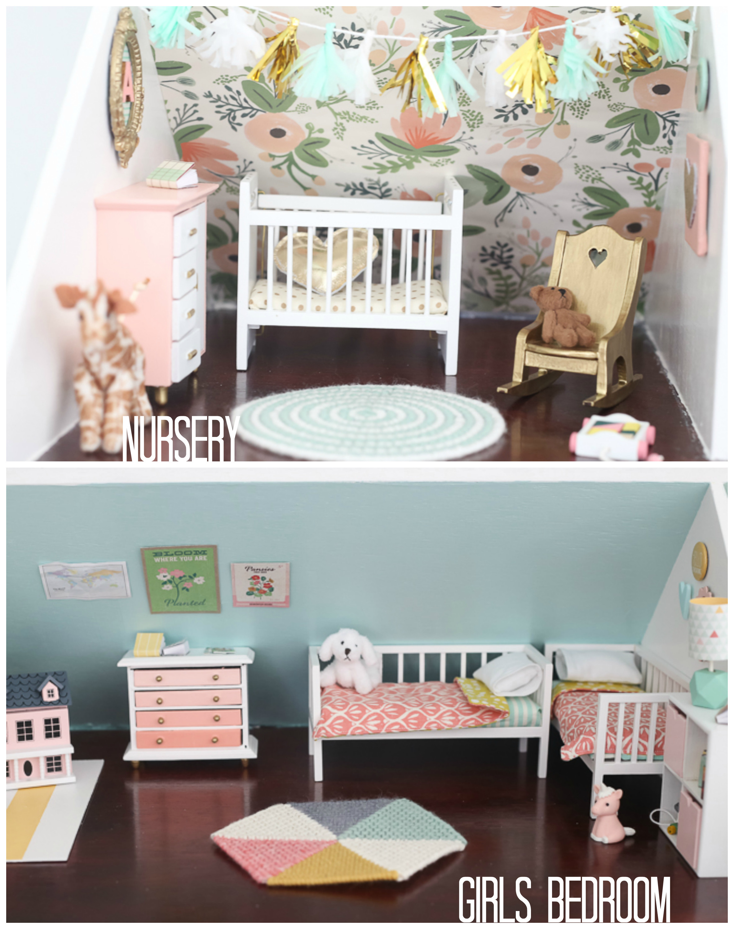 Best ideas about DIY Dolls Furniture . Save or Pin DIY dollhouse living room and kitchen Now.