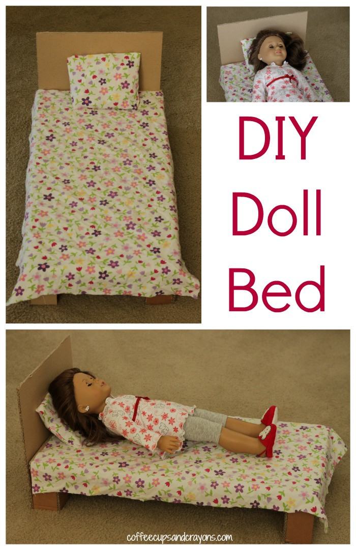 Best ideas about DIY Dolls Furniture . Save or Pin DIY American Girl Doll Bed Now.