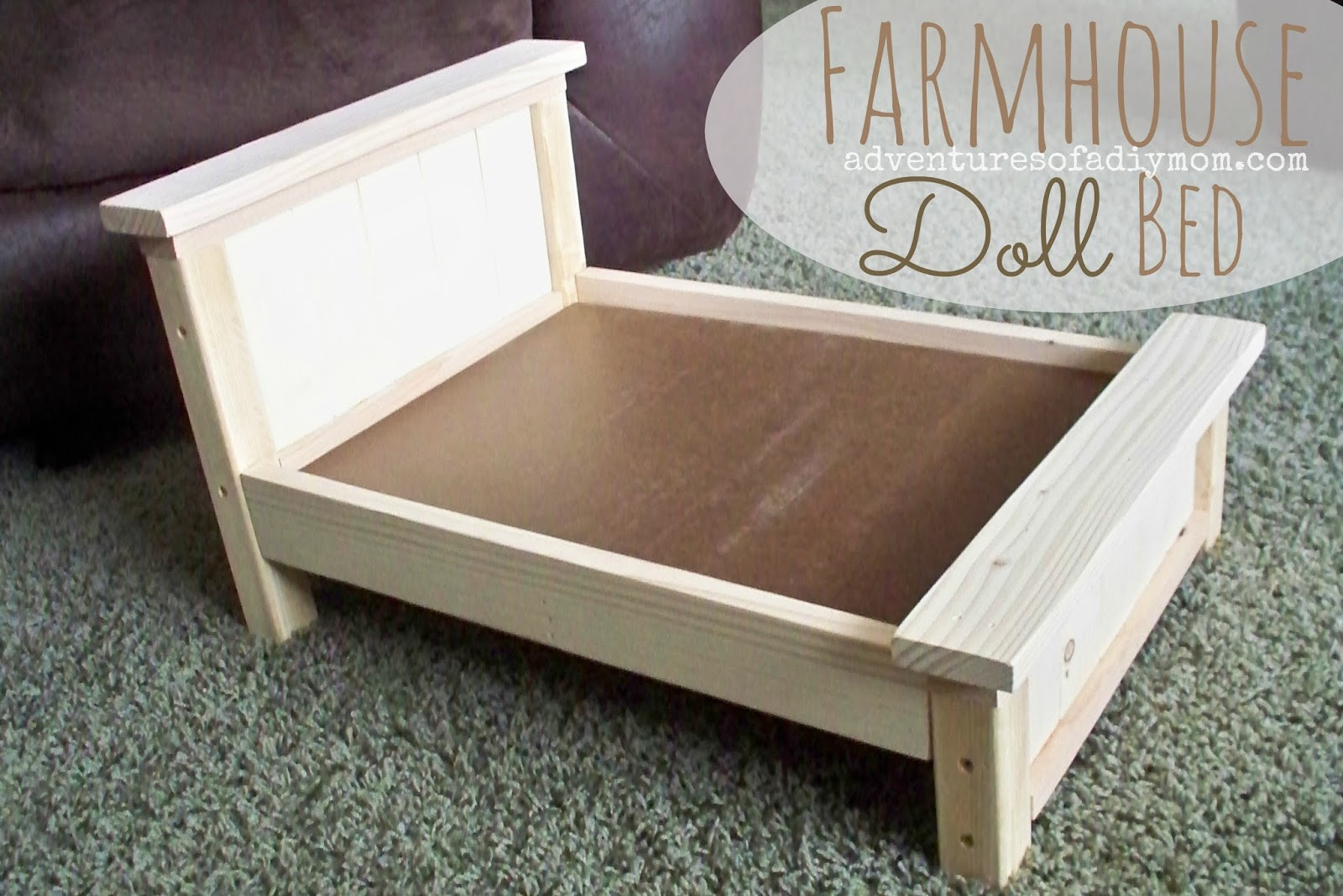 Best ideas about DIY Dolls Furniture . Save or Pin DIY Farmhouse Doll Bed for American Girl Dolls Now.