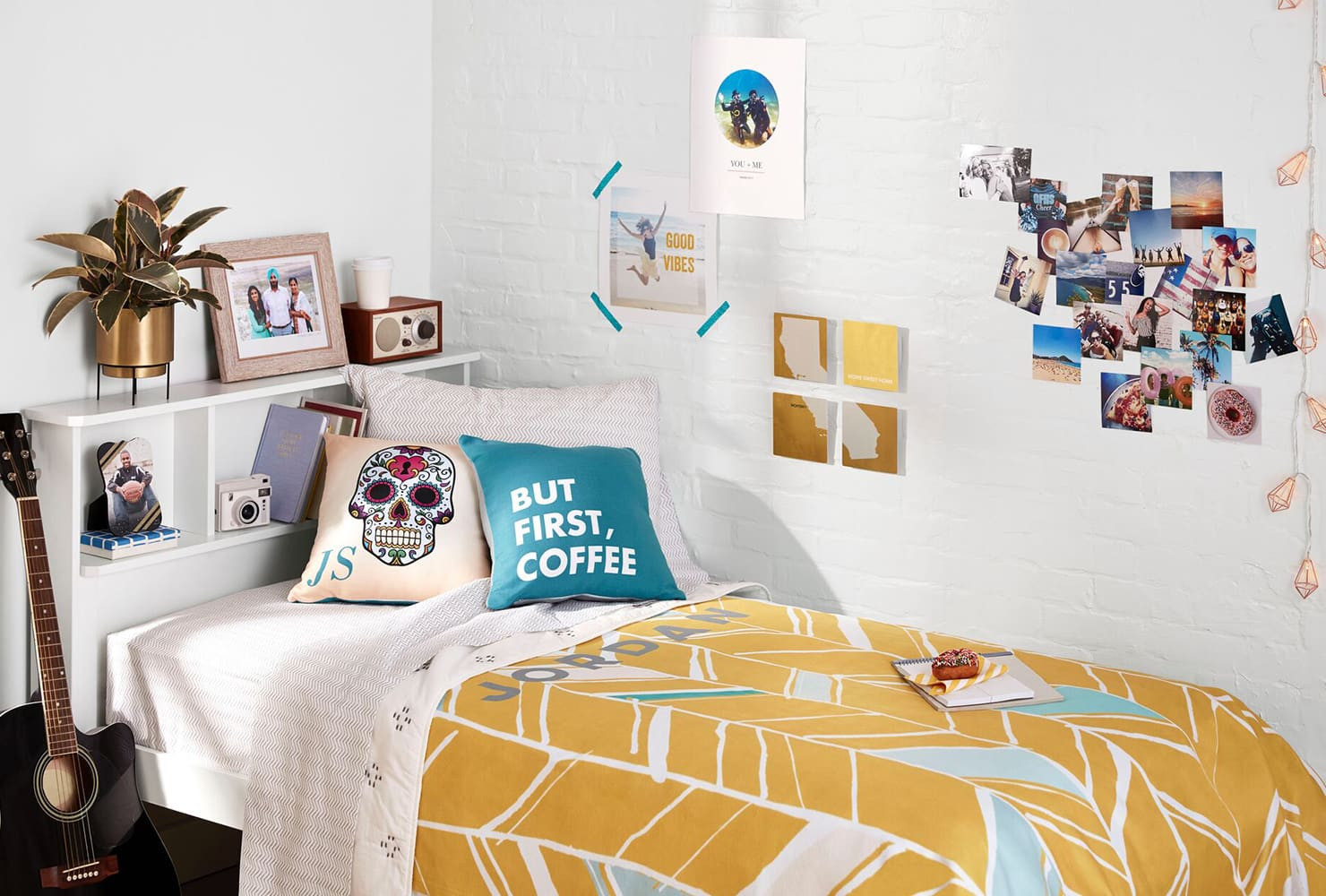 Best ideas about DIY Dorm Decor . Save or Pin 37 Creative DIY Dorm Decor Ideas to Liven Up Your Space Now.