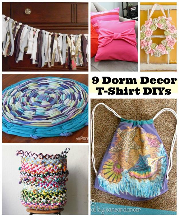 Best ideas about DIY Dorm Decor . Save or Pin 9 DIY Dorm Room Decor Ideas Shirts Blog Now.