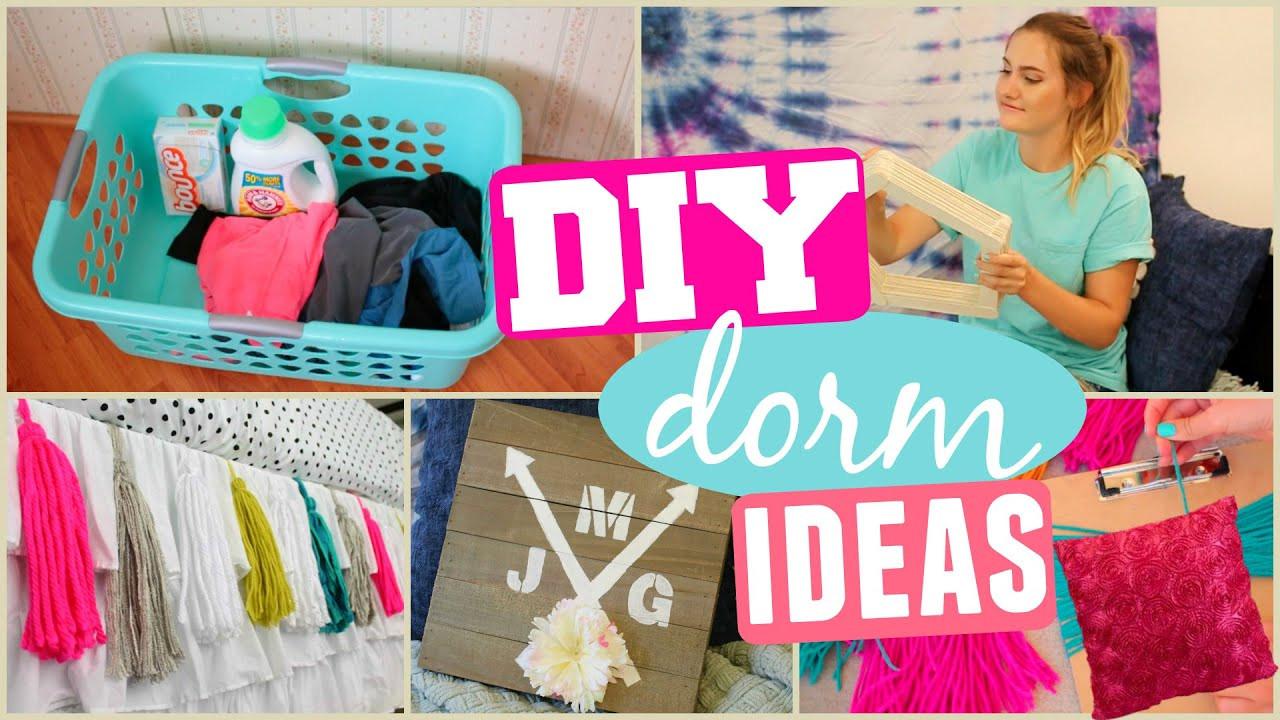 Best ideas about DIY Dorm Decor . Save or Pin DIY Dorm Room Makeover Decor & Organization Ideas Now.