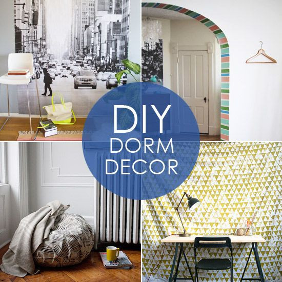 Best ideas about DIY Dorm Decor . Save or Pin Back to Campus 10 Stylish DIY Dorm Decor Ideas Find great Now.