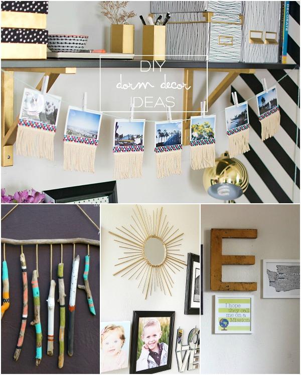 Best ideas about DIY Dorm Decor . Save or Pin DIY DORM DECOR INSPIRATION2 LINK PARTY Now.