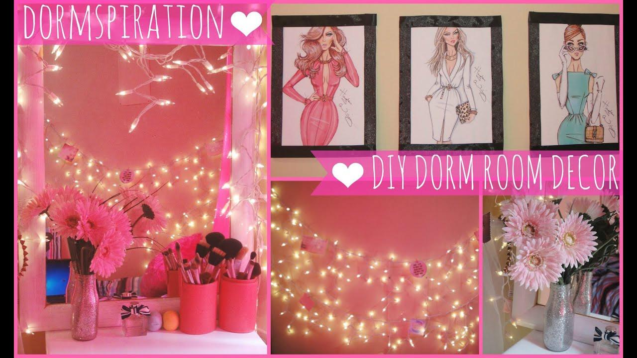 Best ideas about DIY Dorm Decor . Save or Pin Dormspiration DIY Dorm Room Decor ♥ Now.