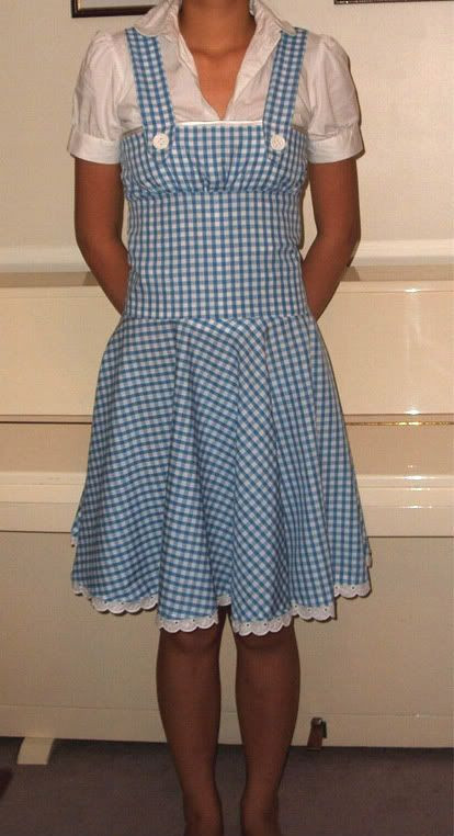 Best ideas about DIY Dorothy Costume No Sew . Save or Pin DIY FREE and Easy Dorothy Pinafore Dress Sewing Pattern Now.