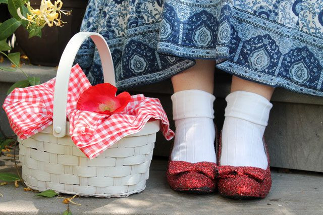 Best ideas about DIY Dorothy Costume No Sew . Save or Pin DIY No Sew Dorothy Inspired Costume Now.