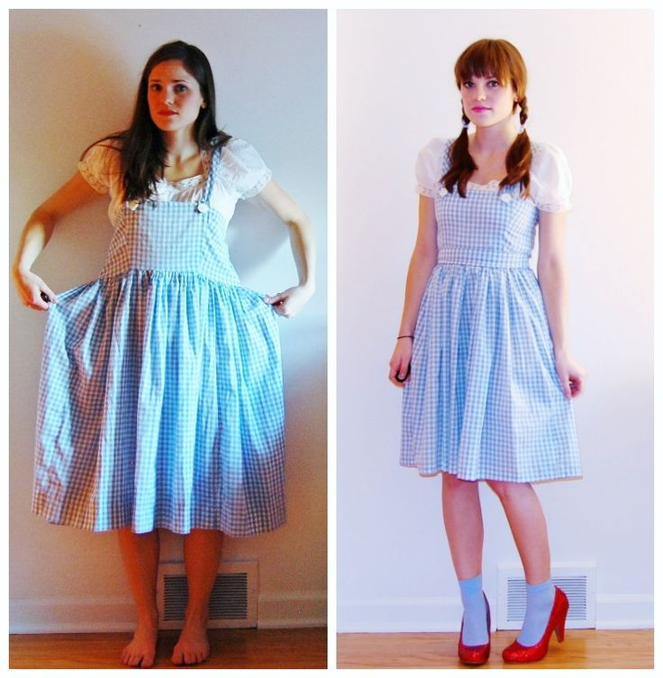 Best ideas about DIY Dorothy Costume No Sew . Save or Pin Good Gravy Trick or Treat or Thrift Dorthy Halloween Now.