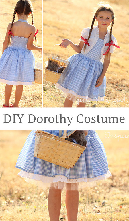 Best ideas about DIY Dorothy Costume No Sew . Save or Pin DIY Dorothy Costume Tutorial Andrea s Notebook Now.