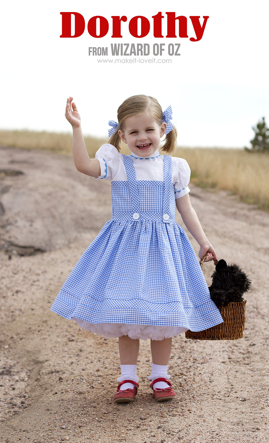 """Best ideas about DIY Dorothy Costume No Sew . Save or Pin Halloween 2014 Dorothy from """"Wizard of Oz"""" Now."""