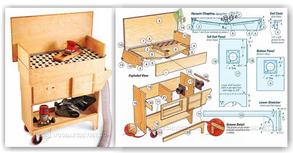 Best ideas about DIY Downdraft Table . Save or Pin DIY Downdraft Table • WoodArchivist Now.