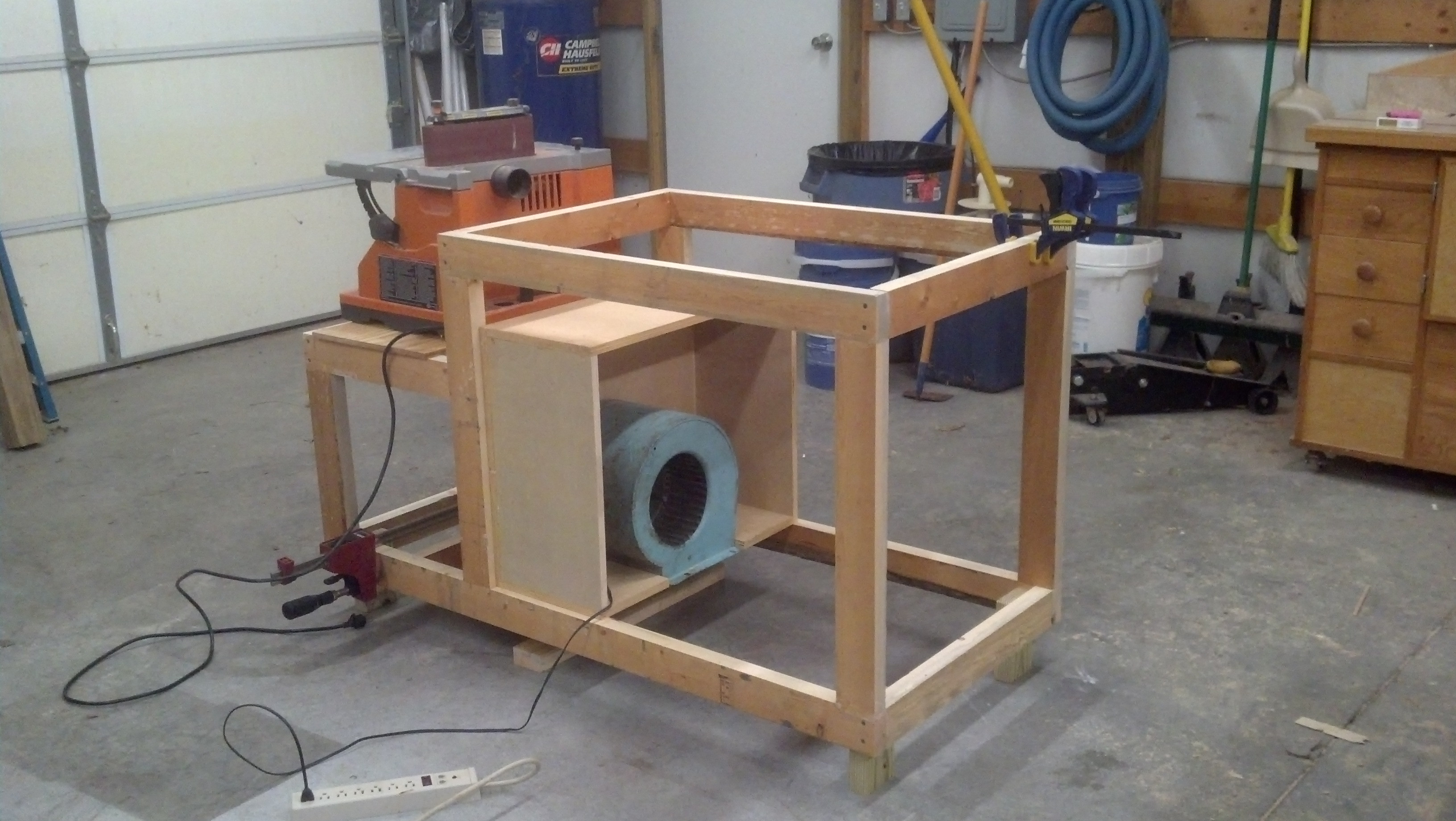 Best ideas about DIY Downdraft Table . Save or Pin Homemade downdraft table Now.
