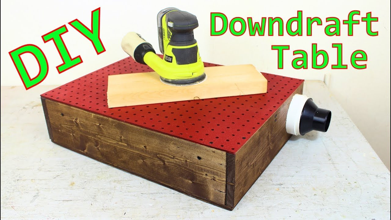 Best ideas about DIY Downdraft Table . Save or Pin Downdraft Table for Sanding DIY How To Now.