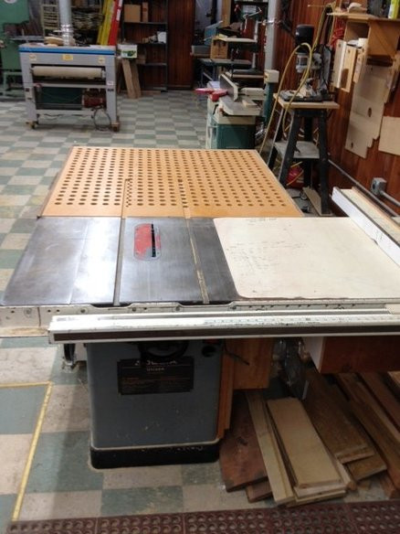 Best ideas about DIY Downdraft Table . Save or Pin outfeed downdraft sanding table by Woodn88s Now.