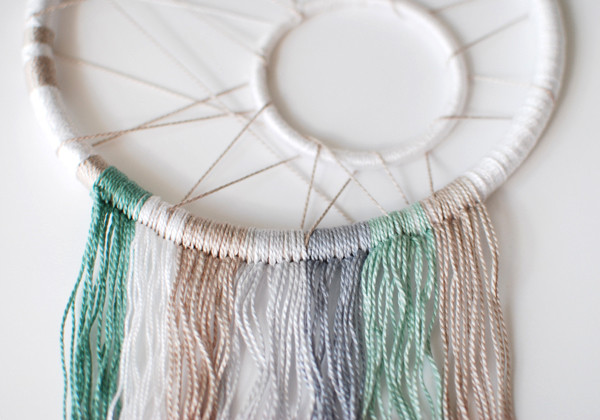 Best ideas about DIY Dream Catchers . Save or Pin Make a Modern Dreamcatcher Now.