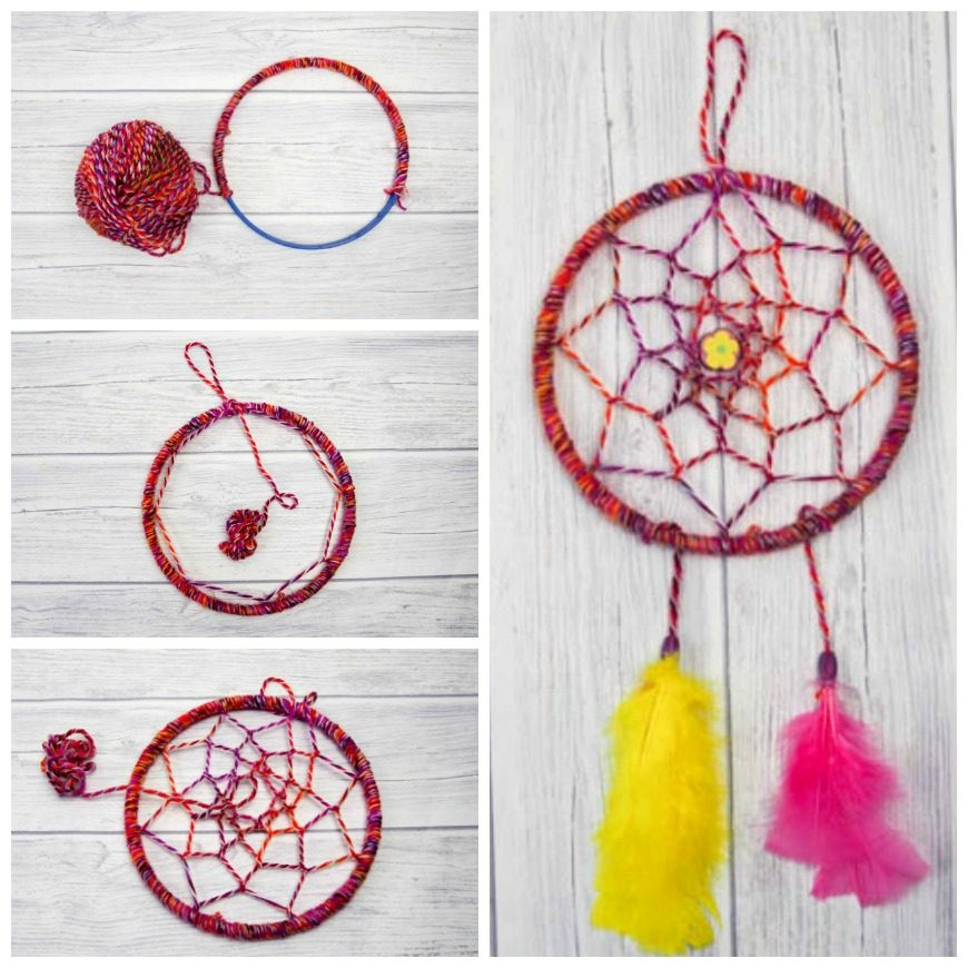 Best ideas about DIY Dream Catchers . Save or Pin DIY Dreamcatcher Tutorial Mum In The Madhouse Now.