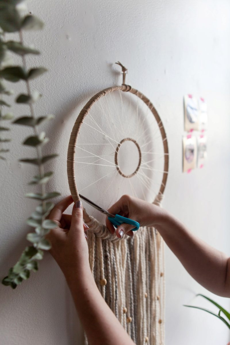Best ideas about DIY Dream Catchers . Save or Pin UO DIY Modern Woven Dreamcatcher Urban Outfitters Blog Now.