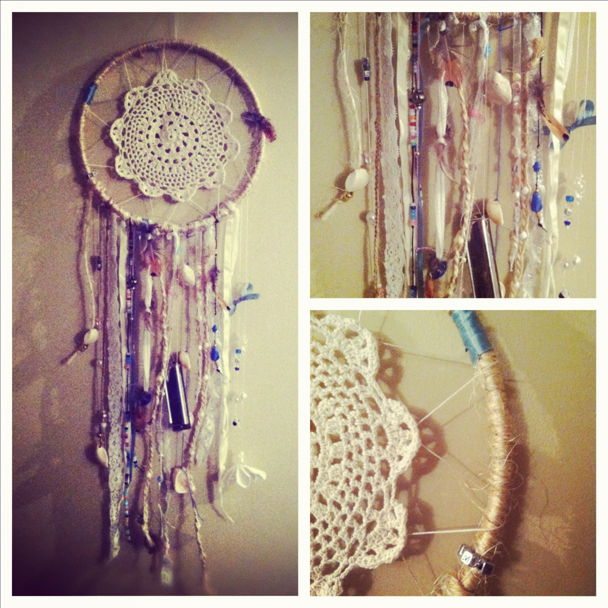 Best ideas about DIY Dream Catchers . Save or Pin DIY dream catcher Now.