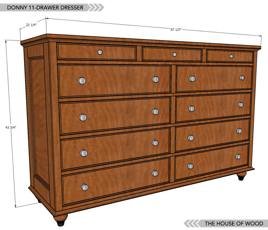 Best ideas about DIY Dresser Plans . Save or Pin How To Build A Dresser Now.