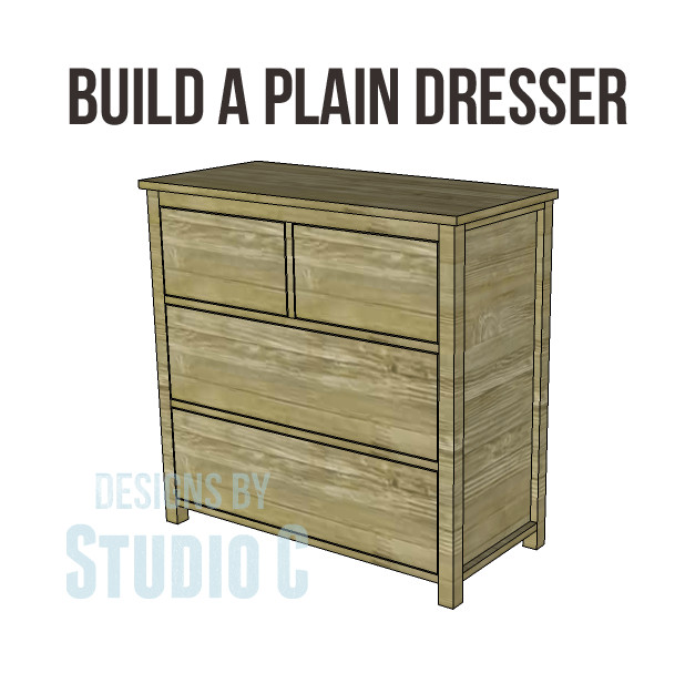 Best ideas about DIY Dresser Plans . Save or Pin free DIY woodworking plans to build a plain dresser Now.