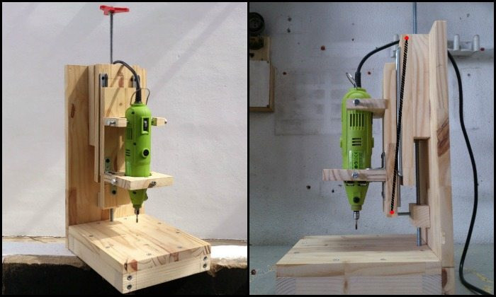 Best ideas about DIY Drill Press . Save or Pin How to build a drill press for $20 Now.