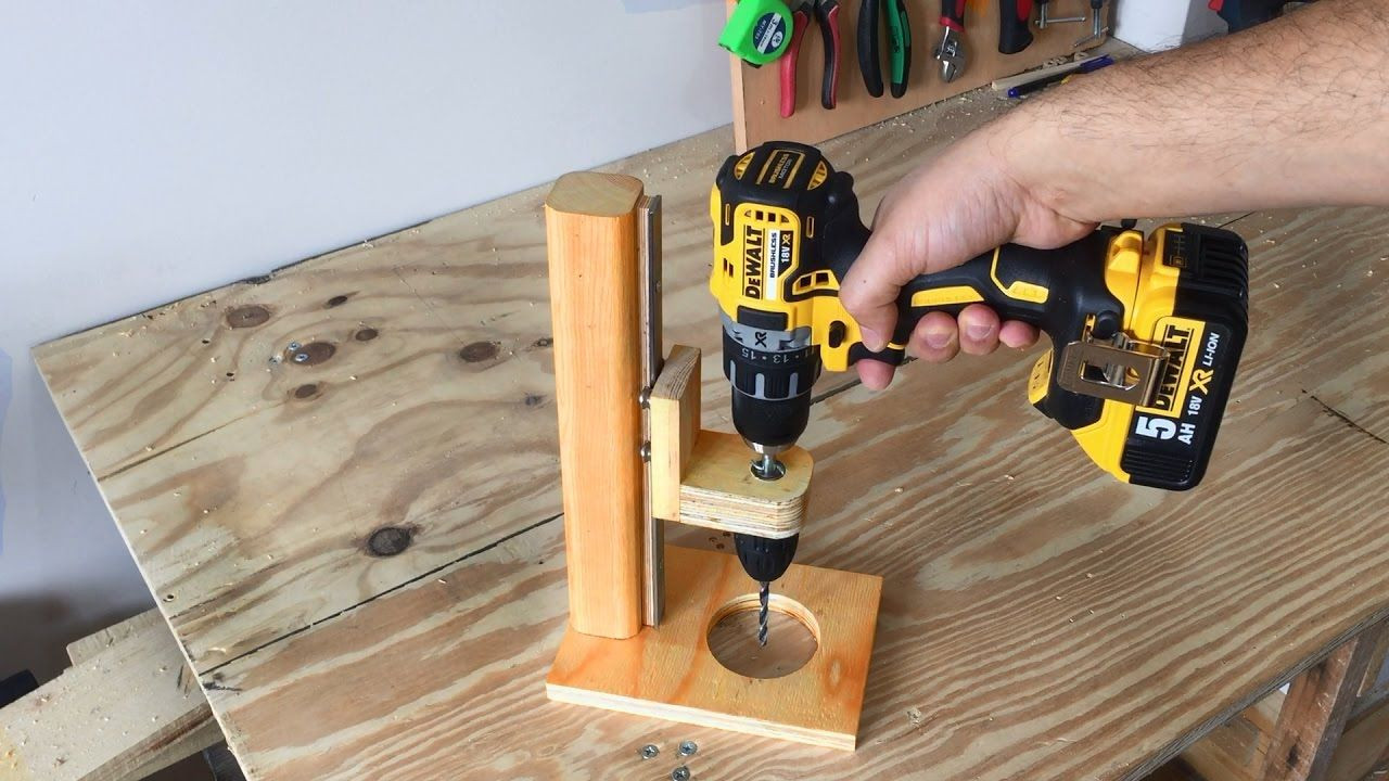 Best ideas about DIY Drill Press . Save or Pin Making a Mobile Drill Press Drill Guide El Yapımı Now.