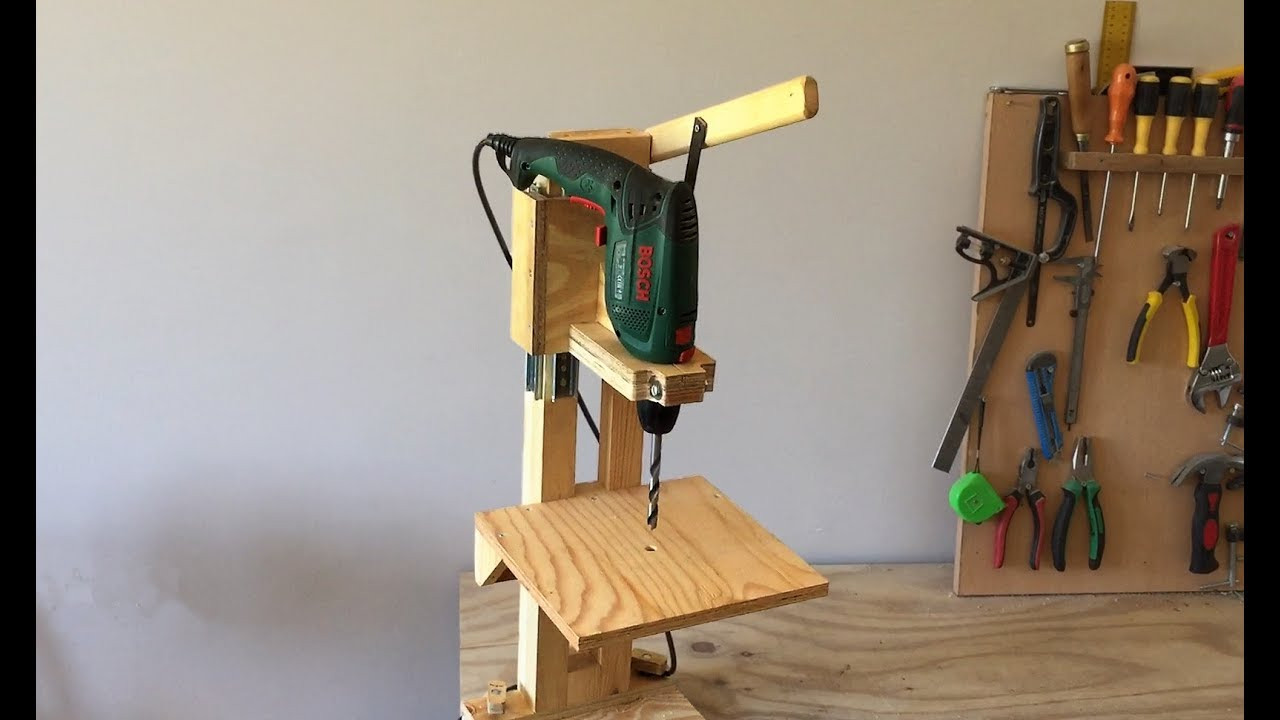 Best ideas about DIY Drill Press . Save or Pin 4 in 1 Drill Press Build Pt1 The Drill Press 4 in 1 Now.