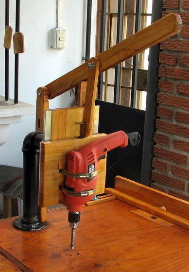 Best ideas about DIY Drill Press . Save or Pin Drill Press Jig Diy WoodWorking Projects & Plans Now.