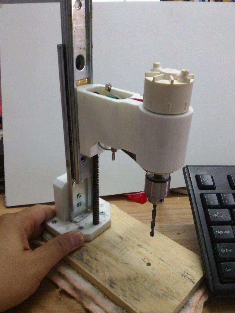 Best ideas about DIY Drill Press . Save or Pin DIY Drill Press Now.