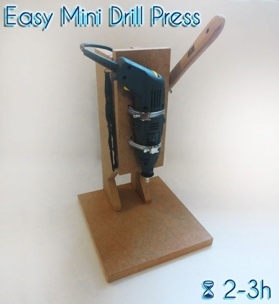Best ideas about DIY Drill Press . Save or Pin Easy Mini Drill Press Now.
