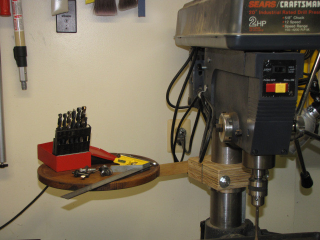 Best ideas about DIY Drill Press Table . Save or Pin DIY Drill Press Accessory Table Now.