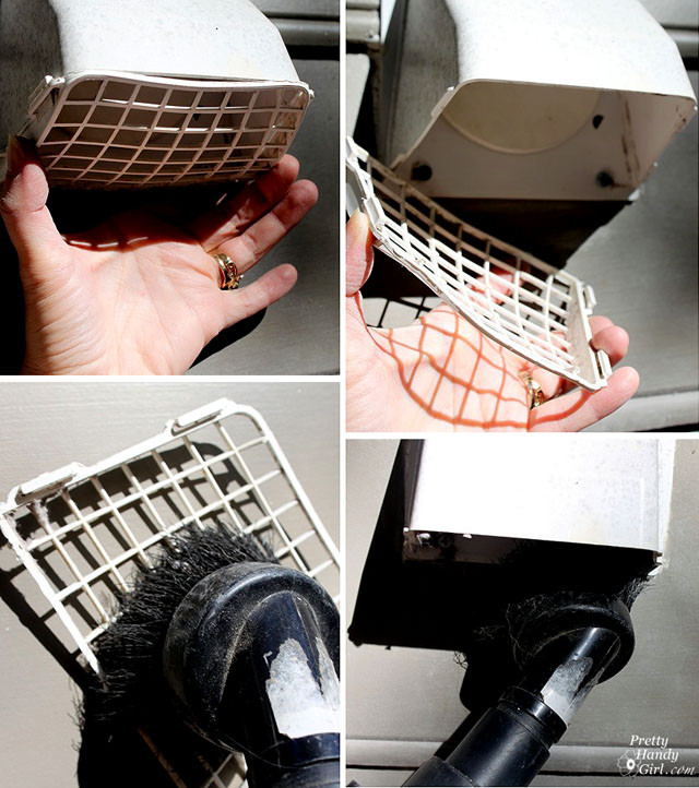 Best ideas about DIY Dryer Vent Cleaning . Save or Pin Clean out your dryer vent duct Now.