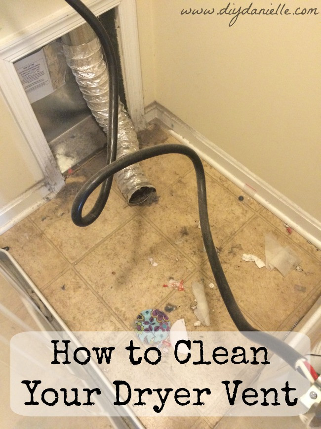 Best ideas about DIY Dryer Vent Cleaning . Save or Pin How to Clean Your Dryer Vent Now.
