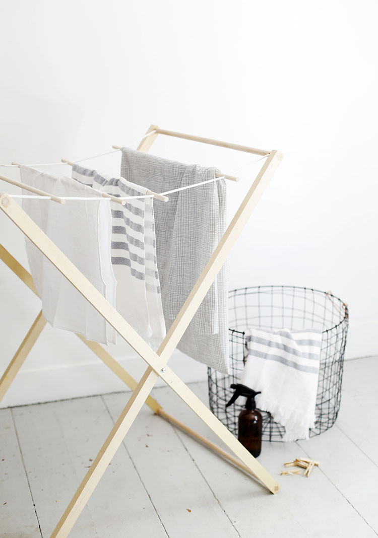 Best ideas about DIY Drying Racks . Save or Pin Modern Laundry Drying Rack DIY Now.