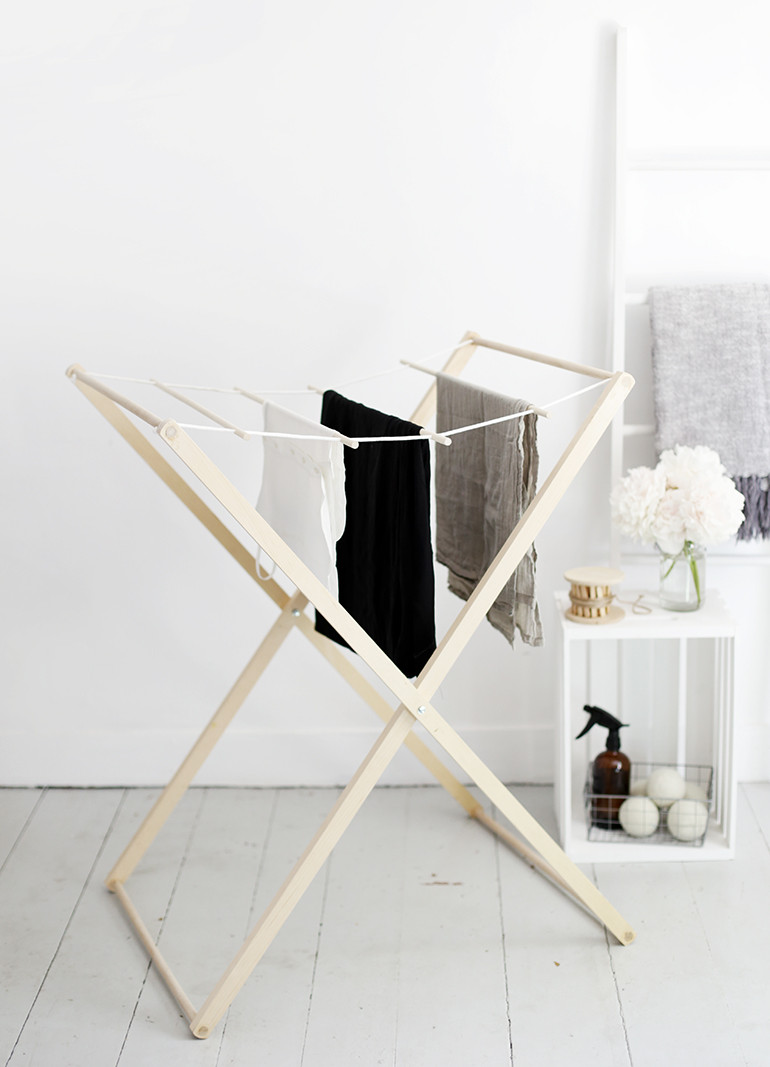 Best ideas about DIY Drying Racks . Save or Pin DIY Drying Rack The Merrythought Now.