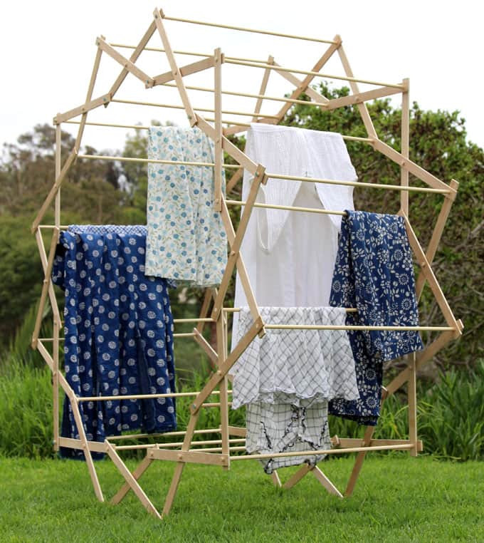 Best ideas about DIY Drying Racks . Save or Pin DIY Star Shaped Clothes Drying Rack A Piece Rainbow Now.