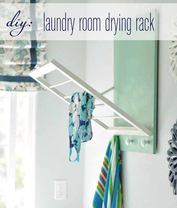 Best ideas about DIY Drying Racks . Save or Pin DIY Laundry Room Drying Rack Now.