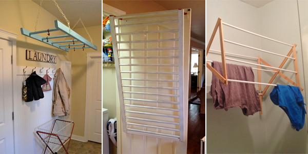 Best ideas about DIY Drying Racks . Save or Pin 10 DIY Laundry Drying Racks For Small Spaces Now.
