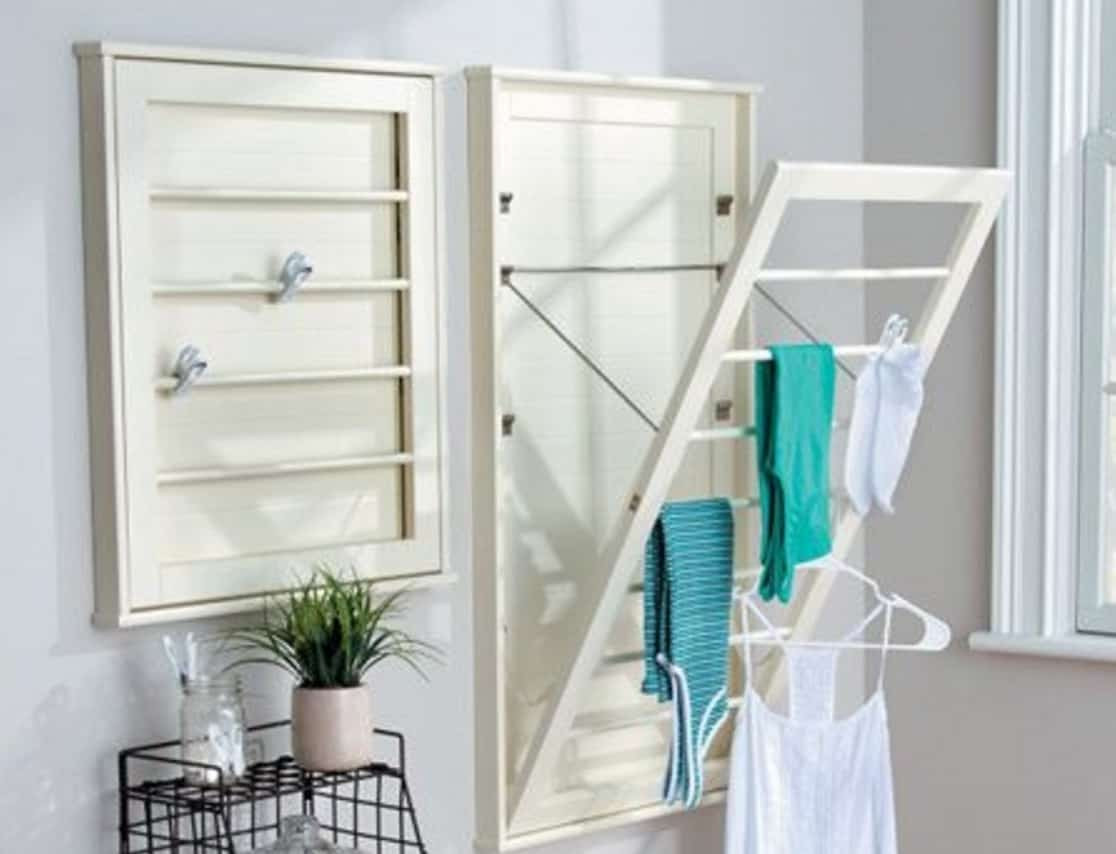 Best ideas about DIY Drying Racks . Save or Pin DIY Wall Mounted Drying Rack Free Plans Now.