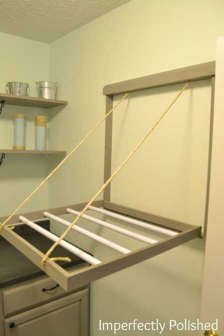 Best ideas about DIY Drying Racks . Save or Pin 20 Laundry Room Organization Ideas Hacks A Blissful Nest Now.