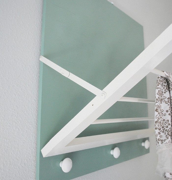 Best ideas about DIY Drying Racks . Save or Pin DIY Wall Mounted Drying Rack Now.