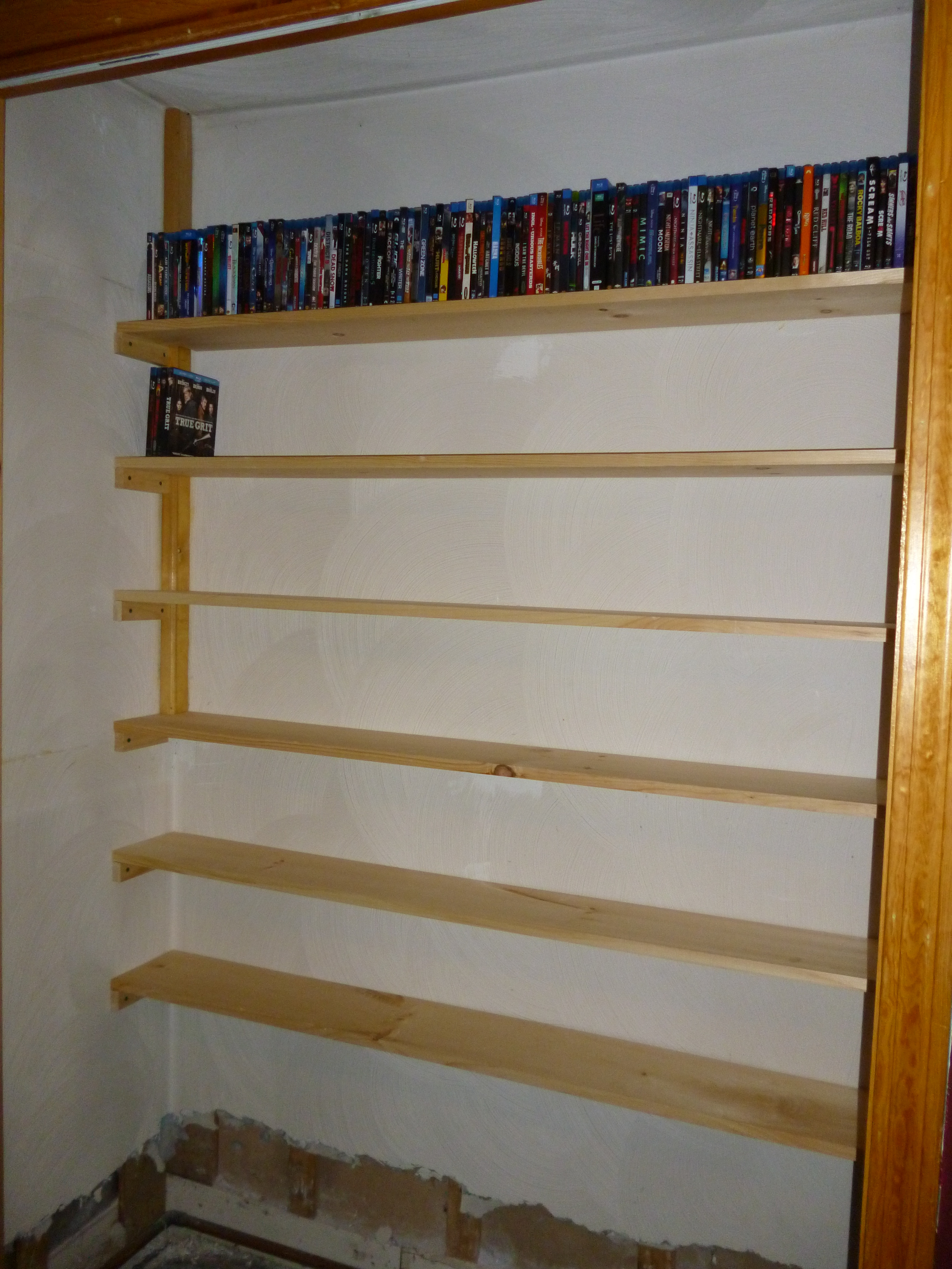Best ideas about DIY Dvd Rack . Save or Pin Easy dvd rack plans Plans DIY How to Make – wiry32ibw Now.