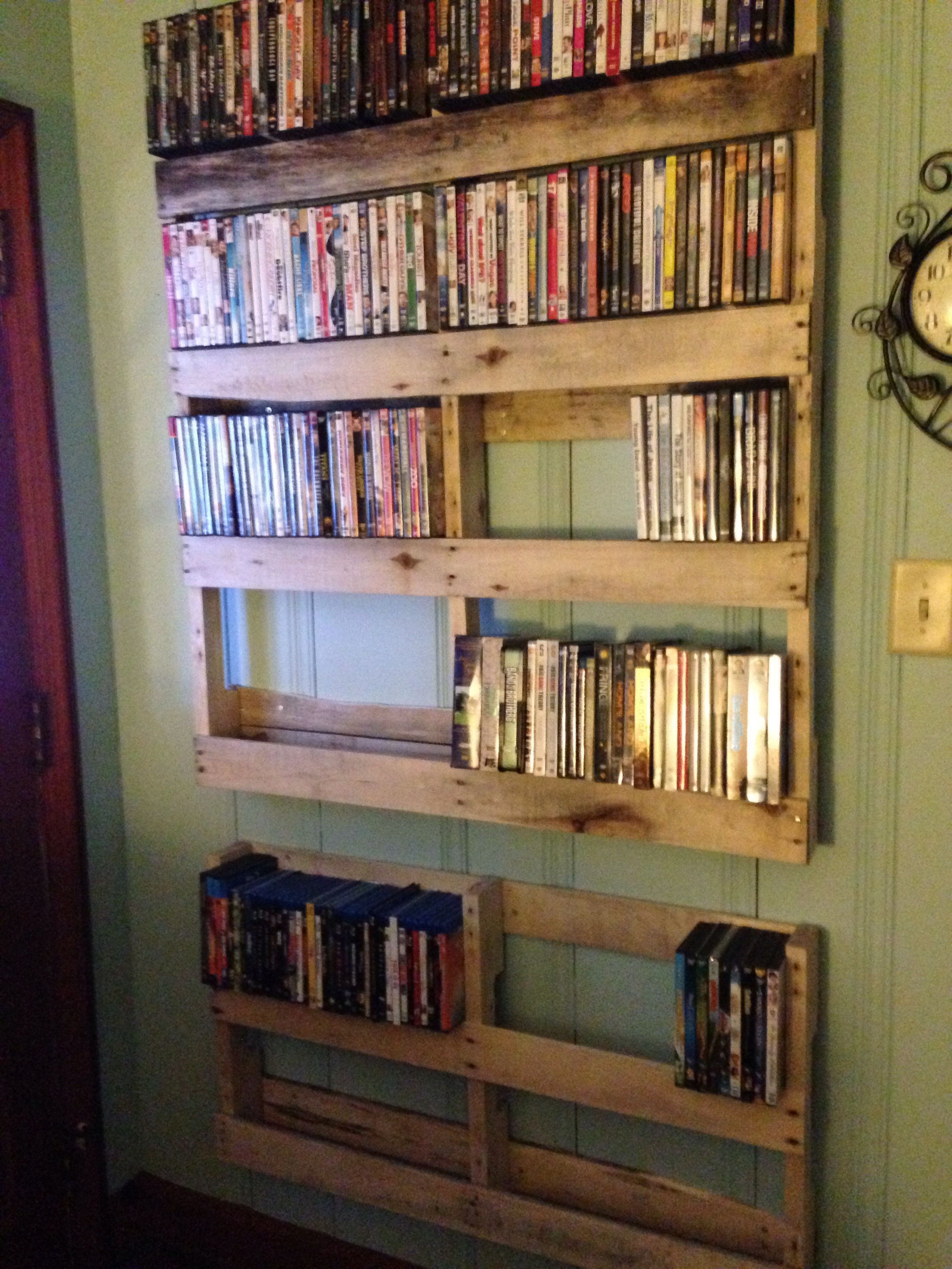 Best ideas about DIY Dvd Rack . Save or Pin 20 Unique DVD Storage Ideas to Try for A Movie Addict Now.