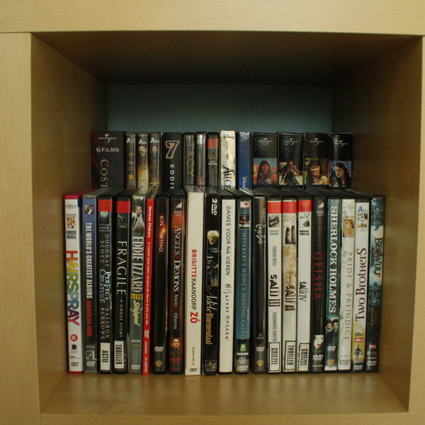 Best ideas about DIY Dvd Rack . Save or Pin Creative DIY CD and DVD Storage Ideas or Solutions Hative Now.