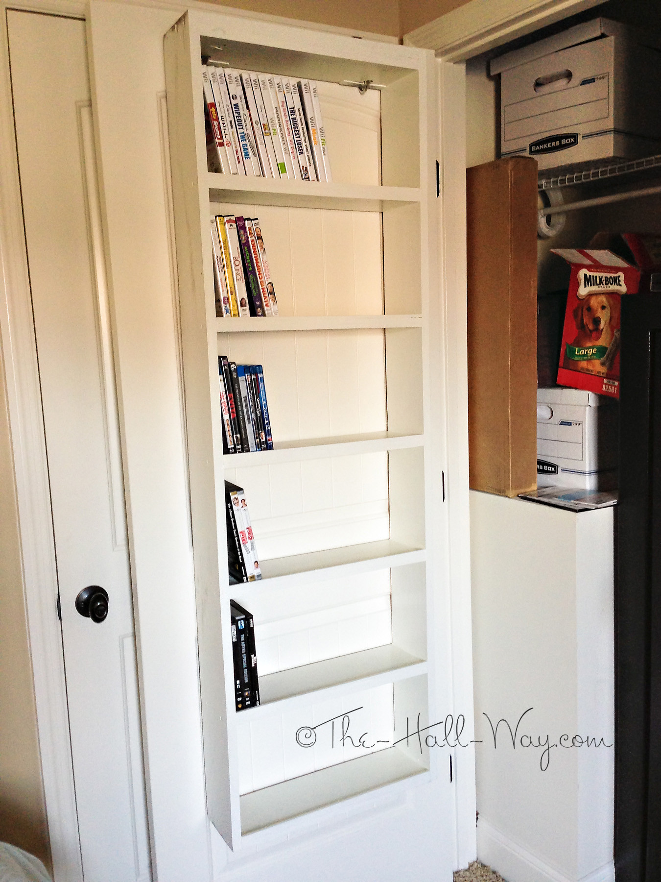 Best ideas about DIY Dvd Rack . Save or Pin DIY Overload – UPDATED Now.
