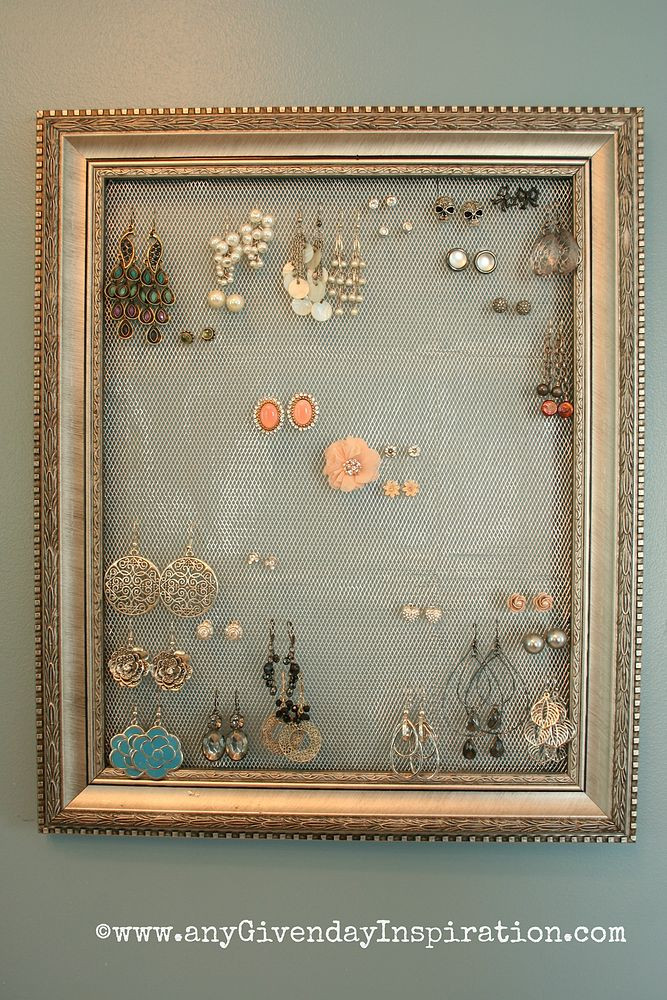 Best ideas about DIY Earring Display . Save or Pin Hometalk Now.