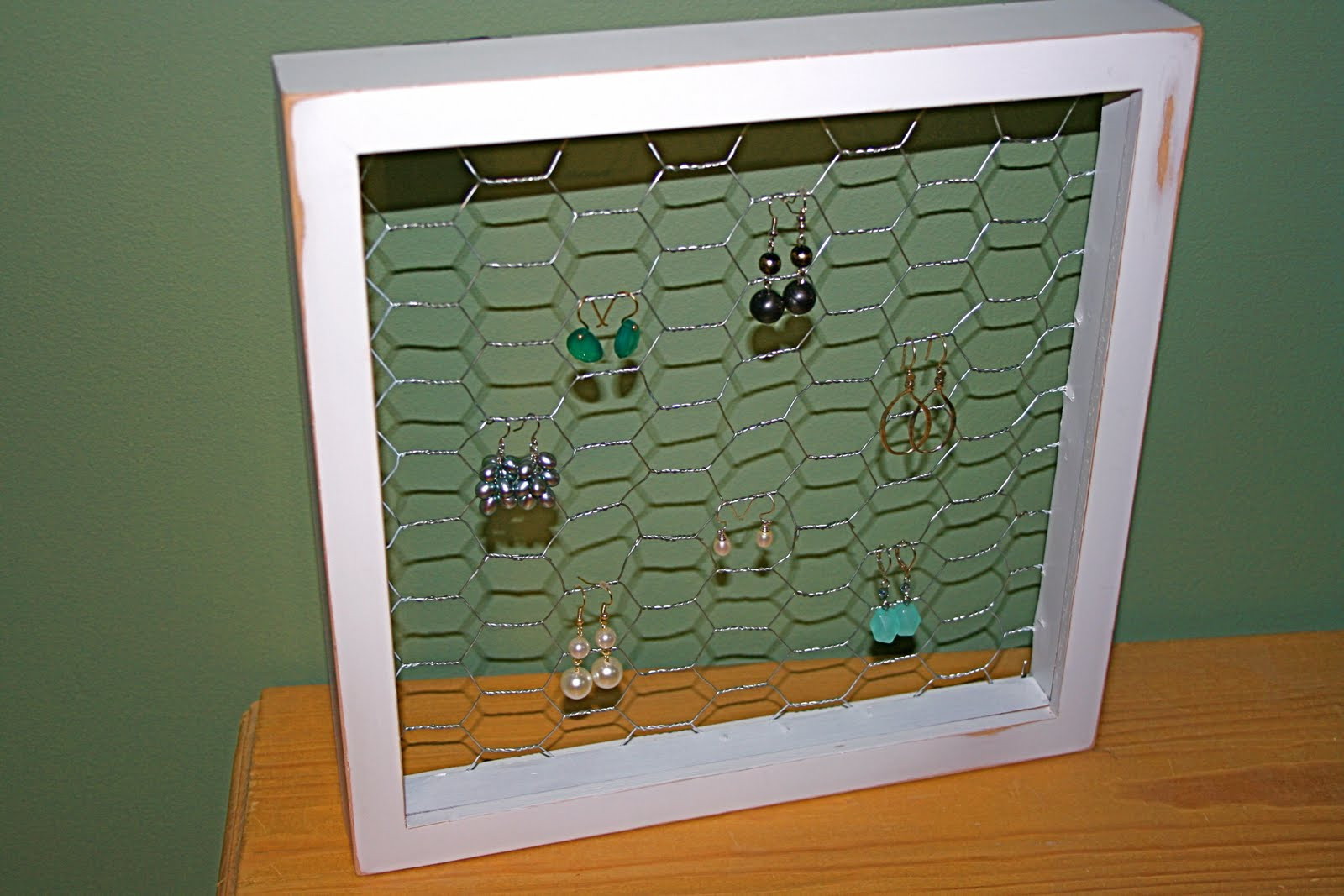 Best ideas about DIY Earring Display . Save or Pin Little and Lovely DIY Earring Display Now.