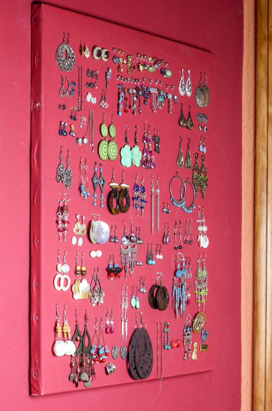 Best ideas about DIY Earring Display . Save or Pin DIY Earring Holder for Studs & Display Organizer Oh Now.