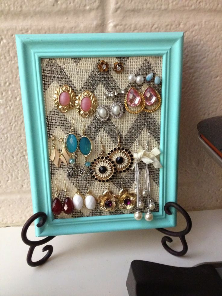 Best ideas about DIY Earring Display . Save or Pin Best 25 Diy Earring Holder ideas on Pinterest Now.